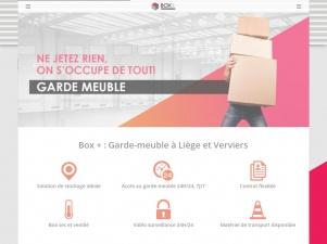 Box+, location de garde-meuble et d'espace de stockage à Liège et Verviers
