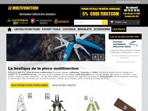 Le multifonction, site web de gravure de pinces Leatherman