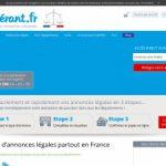 L'Itinérant : Annonces légales rapides pour les entreprises