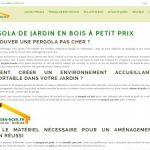 Abri-jardin-bois.fr : Une pergola bois de qualité pour se protéger