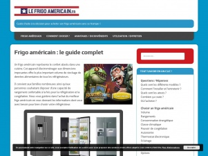 Le guide du frigo américain