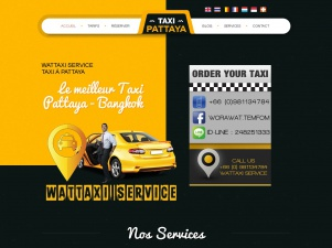 Wattaxi Service : Taxi à Pattaya