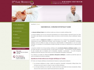 Docteur Mezhoud, chirurgien plasticien en Tunisie