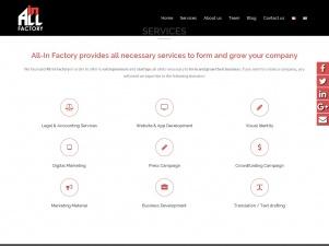 All-In Factory: Cabinet de création et de développement des entreprises
