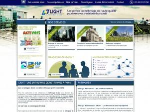L'entreprise de nettoyage Light-SA