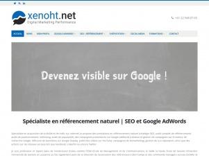 Xenoht: Agence de référencement sise à Genève