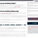Consultation juridique en ligne ou par téléphone