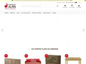 Les meubles en bois Grenier Alpin
