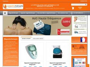 Magnétothérapie, vente en ligne d'appareils à champs pulsés