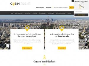 COSIM, Chasseur immobilier à Paris