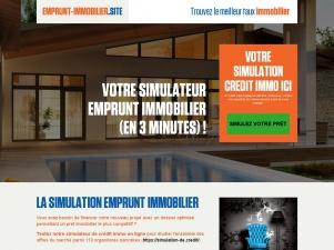 Emprunt-Immobilier, le crédit immobilier adapté