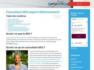Samuel Hounkpe, guide pour le référencement des sites web