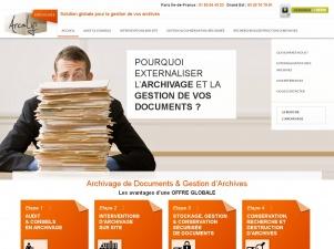 La gestion des archives d'entreprise avec Arcalys