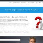 Avocat en ligne pour conseil et aide juridique