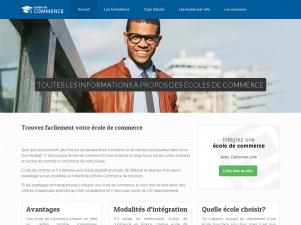 Ecole de commerce, plateforme d'informations sur les écoles de commerce