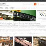 Le couteau : vente de couteaux en ligne
