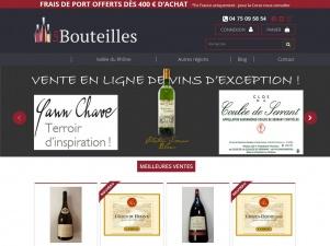 Les Bouteilles, spécialiste du vin en ligne (Rhône,Bordeaux et autres)
