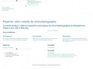 Réalisez rapidement le contrôle de votre chronotachygraphe avec Stopchrono