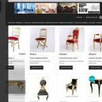 Deco Prive, le spécialiste de la vente des meubles du style baroque à Paris