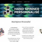 Hand Spinner Personnalisé