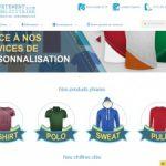 vetement-publicitaire.com personnalisation de vos textiles professionnels