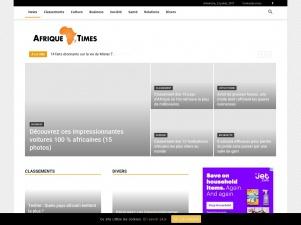 Afrique Times pour une nouvelle impression de l'Afrique