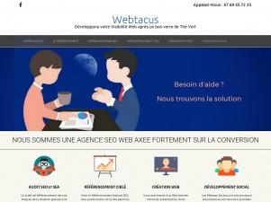 Agence de référencement Webtacus