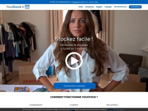 Youstock: offres de stockage facile