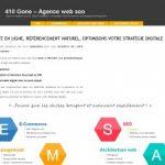 410-gone.fr, site d'un consultant SEO