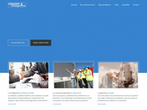 Concept & Management : médiation professionnelle, conseil et expertise du bâtiment