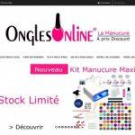 Onglesonline: Kit vernis semi permanent pour manucure