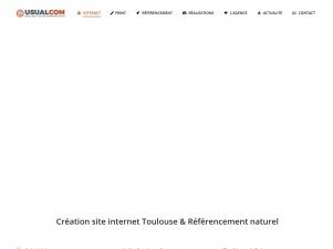 Usualcom, création de site internet – Toulouse