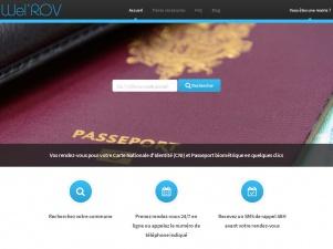 Wel' RDV mairies CNI pour les papiers biométriques