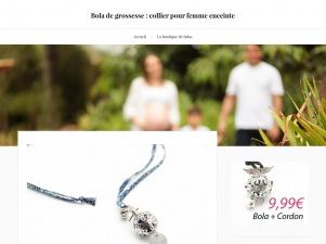 Bola de grossesse, boutique en ligne