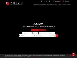 Axium, agence immobilière en France