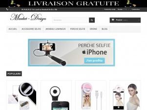 Market-Design.fr: Boutique d'accessoire pour selfie