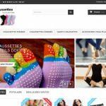 Boutique de vente des chaussettes du Pilates et du Yoga