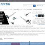 Les ciseaux, boutique en ligne de cisellerie