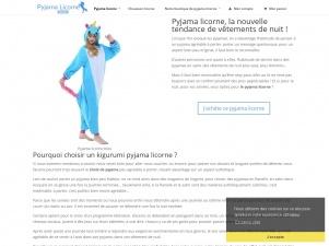 Pyjama licorne, le site des vêtements licornes