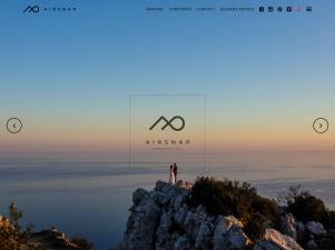 Airsnap, photographe de mariage à Nice
