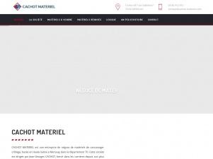 Cachot matériel, entreprise de négoce de matériels de concassage-criblage