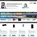 Piecetelephone.fr, boutique en ligne de pièces détachées pour smartphone