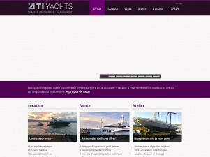 ATI Yachts, entreprise de yachting à Antibes