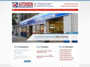 Autovision; Nice contrôle technique