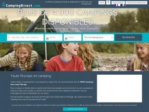 Camping direct : portail de campings en France et en Europe