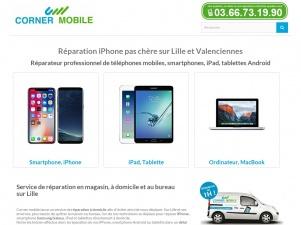 Corner Mobile réparation iphone, smartphones, iPad et Macbook à lille