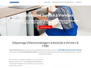 Electro-Home-Service : Dépannage et d'électroménagers à Liège et Verviers