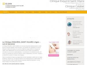 La Clinique Esquirol-Saint-Hilaire à Agen – Lot et Garonne