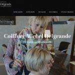 Le célèbre coiffeur Michel Delgrande