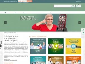 Mobiho Essentiel : vente en ligne de téléphone et tablette pour senior